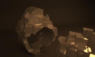 Ring, Computer Render, 2014